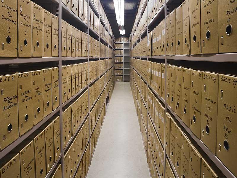 سیستم اعلام و اطفاء حریق بایگانی و مراکز اسناد